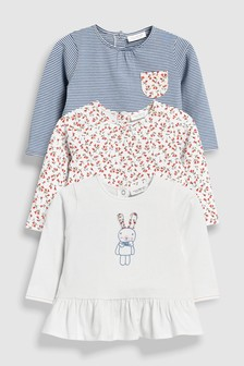 Bunny T-Shirts Three Pack (0mths-2yrs)
