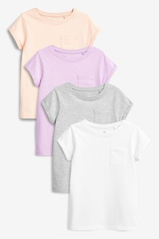 T-Shirts, 4er-Pack (3-16yrs)