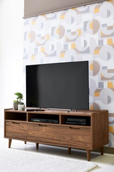 Oslo Walnut Wide TV Unit