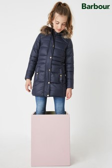 Barbour® Caldbeck Navy Quilted Jacket