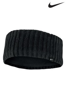 Nike Black Wide Knit Headband