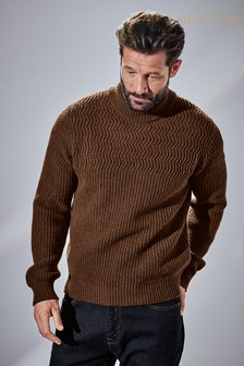Signature Italian Turtle Neck Jumper