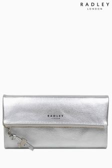 Radley Silver Large Foldover Matinee