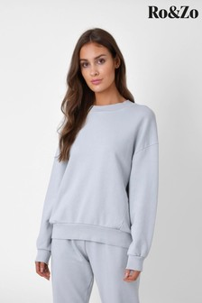 Ro&Zo Pale Grey Sweatshirt