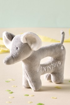 Born In 2019 Elephant Rattle