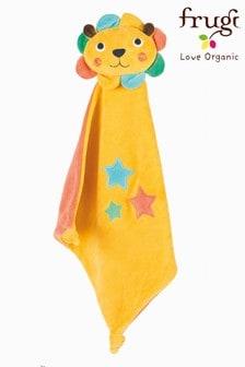 Frugi Yellow Froogli Cosmic Lion Comforter