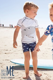 Shark Sunsafe Two Piece Set (3mths-7yrs)