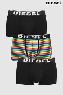 Diesel® Stripe Trunk Three Pack