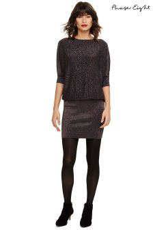 Phase Eight Multi Becca Rainbow Shimmer Knitted Dress