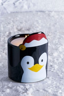 Penny The Penguin Candle