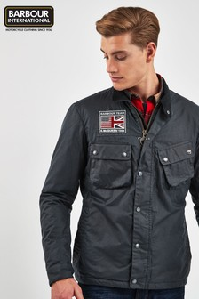 Barbour® International Navy 9665 Wax Jacket