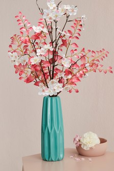 Artificial Blossom In Vase