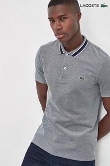 Lacoste® Stripe Collar Polo