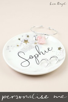 Personalised Stars Trinket Dish by Lisa Angel