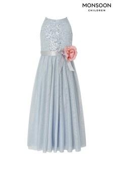 Monsoon Blue Truth Maxi Dress