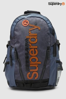 Superdry Navy Honeycomb Backpack