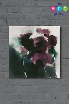 Purple Poppies by David Ross Canvas