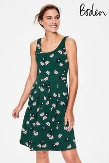 Boden Green Joanna Ponte Dress