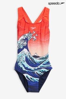 Speedo® Origami Splashback Swimsuit