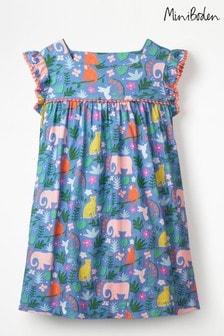 Boden Multi Frill Sleeve Jersey Dress