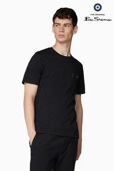 Ben Sherman Black Classic Spade Pocket T-Shirt