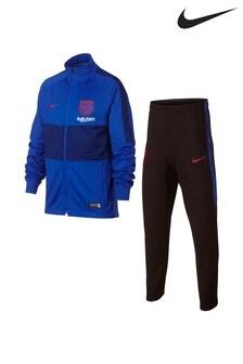 Nike Blue FC Barcelona Tracksuit