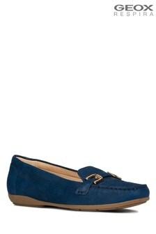 Geox Blue D Annytah Moc Shoe