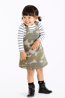 Camouflage Pinafore (3mths-7yrs)