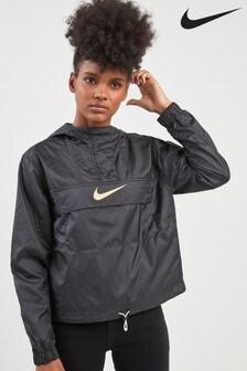 Nike Black Animal Woven Jacket