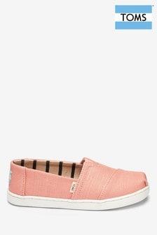 Toms Pink Coral Slip-On Shoe