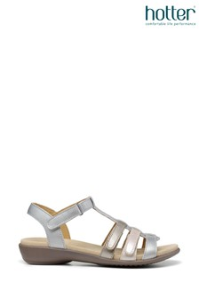 Hotter Sol Touch Fastening Open Sandals