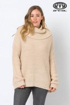 Animal Sandy Cream Arya Eve Oversize Knit Jumper
