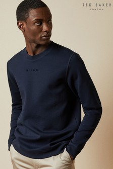 Ted Baker Blue Spread Branded Sweatshirt