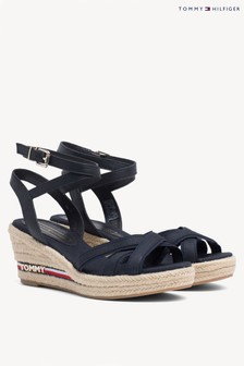 Tommy Hilfiger Signature Elba Wedged Sandal