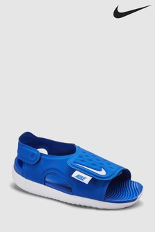 Nike Blue Sunray Adjust Junior & Youth Sandals