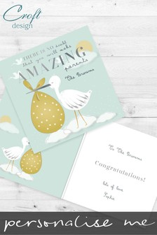 Personalised Amazing Parents Card by Croft Designs