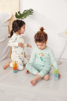 Mermaid Snuggle Pyjamas Two Pack (9mths-8yrs)