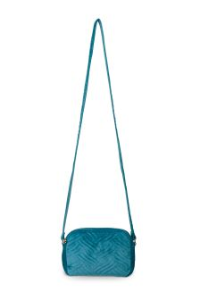 Oliver Bonas Blue Lexi Quilted Camera Bag