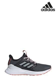 adidas Run Black/White Falcon X Trainers