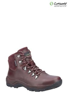 Cotswolds Brown Barnwood Hiking Boots