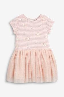 Mesh Skirt Dress (3mths-7yrs)