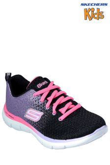 Skechers® Black Sketch Appeal 2.0 Get Em Glitter Trainer