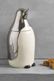 Penguin Treat Jar