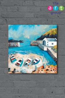 Ballintoy Harbour by Derek Melville Canvas
