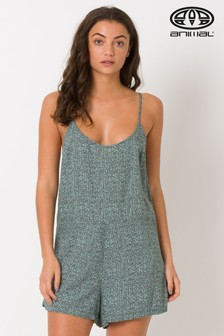 Animal Grey Playsuit