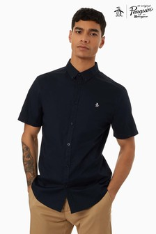 Original Penguin® Short Sleeved Shirt With Chest Placement Pete The Penguin