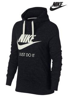 Nike Black Gym Vintage Overhead Hoody