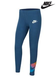 Nike Multicoloured Logo Favourite Leggings