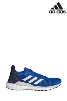 Синие кроссовки для бега adidas Solar Glide