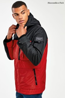 Abercrombie & Fitch Red Jacket